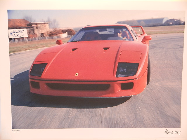 A. Hass : Photo ferrari F40